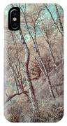 Through The Trees In Infrared IPhone Case