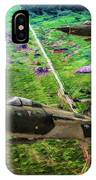 Thuds Over Vietnam Oil IPhone Case