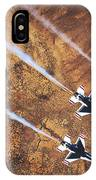 Thunderbirds In Diamond Roll Formation IPhone Case