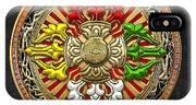 Tibetan Double Dorje Mandala IPhone Case