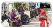 Tibetan Women Waiting IPhone Case