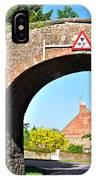 Ticknall Tramway Bridge IPhone Case