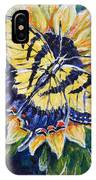 Tiger And Sunflower IPhone Case