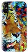 Tiger Big Colors IPhone Case