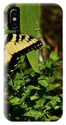 Tiger Butterfly Posing IPhone Case
