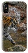Tiger Crossing Poster IPhone Case