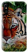 Tiger In Jungle IPhone Case