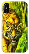 Tiger In The Forest IPhone Case