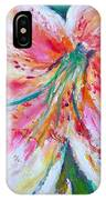 Tiger Lily Passion IPhone Case
