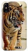 Tiger Pacing IPhone Case