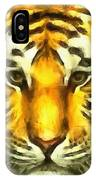 Tiger Painted IPhone Case