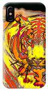 Tiger Shining Bright IPhone Case