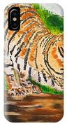 Tiger Stretching IPhone Case