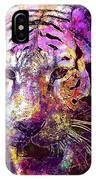 Tiger Surreal Painting Predator  IPhone Case