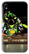 Tiger Tiger Burning Bright - Sydney Vivid Festival IPhone Case