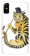 Tiger With Pipe IPhone Case
