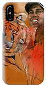 Tiger Woods Or Earn Your Stripes IPhone Case