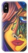 Playful Tiger - Scar Series 4 IPhone Case