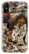 Tigers For Responsible Tourism IPhone X Case