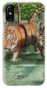 Tiger's Water Park IPhone Case