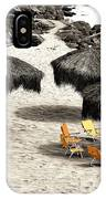 Tiki Huts Fusion IPhone Case
