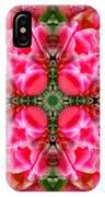 Tiki Tulip Mandala IPhone Case