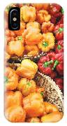 Tile Peppers IPhone Case
