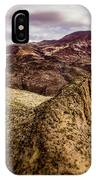 Tilt-shift Mountain Peak IPhone Case