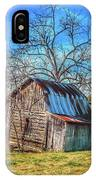 Tilted Log Cabin IPhone Case