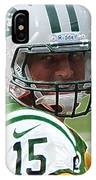 Tim Tebow Art Deco - New York Jets -  IPhone Case