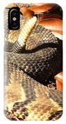 Timber Rattlesnake Horizontal IPhone Case