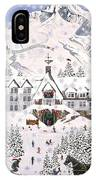 Timberline Lodge IPhone Case