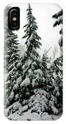 Timberline Snow IPhone Case