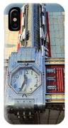 Time Theater Marquee 1938 IPhone Case