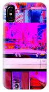 Times Square Frenzy IPhone Case