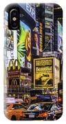 Times Square Pano IPhone Case