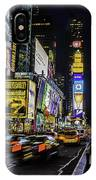 Times Square Traffic IPhone Case