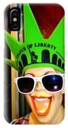 Times Square Trish IPhone Case