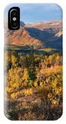 Timpanogos Autumn Sunrise IPhone Case