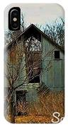 Tin Barn IPhone Case