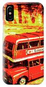 Tin Sign Travels IPhone Case