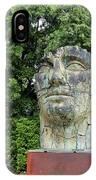 Tindaro Screpolato Sculpture In Boboli Garden 0197 IPhone Case