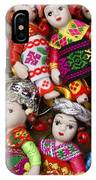 Tiny Chinese Dolls IPhone Case