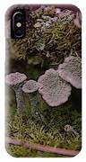 Tiny Mushrooms  IPhone Case