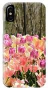 Tiptoe Among The Tulips IPhone Case