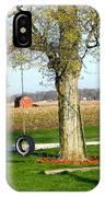 Tree Tire Swing  IPhone Case