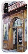 Tirso De Molina Old Tavern IPhone Case