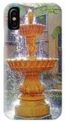 Tlaquepaque Fountain In Sunlight IPhone Case