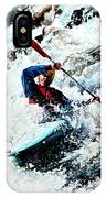 To Conquer White Water IPhone Case