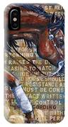 To Rein A Horse IPhone Case